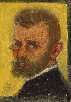 "Schmidt, Gustav. - ""Selbstporträt""."