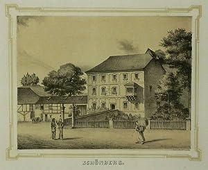 """Bad Brambach. - Schloss Schönberg. - Poenicke. - """"Schönberg"""".: Gustav Adolph ..."""