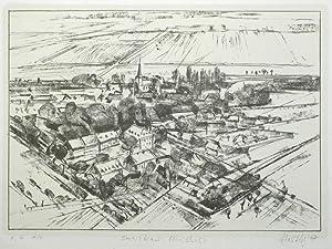 """Dreiskau-Muckern. - Großpösna. - Eberhard Hertwig. - """"Dreiskau-Muckern""""."""