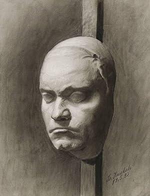 Kandale, Theodor. - Totenmaske Ludwig van Beethoven
