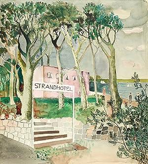 """Schall, Margarete. - """"Strandhotel""""."""
