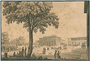 Florenz, Parco delle Cascine.: Gherardi, Giuseppe (1788/90