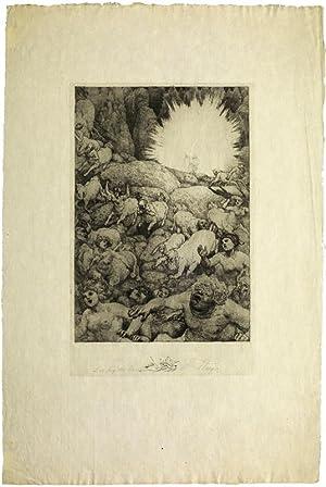 Der Sieg des Reinen.: Staeger, Ferdinand (1880 Trebitsch - Waldkraiburg 1976)