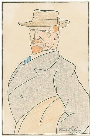 Der Maler Rudolf Gudden (1863 Werneck/Unterfranken –: Salini, Lino (1889
