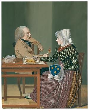 Ein Mann und eine Frau an einem: Reinhold, Johann Friedrich
