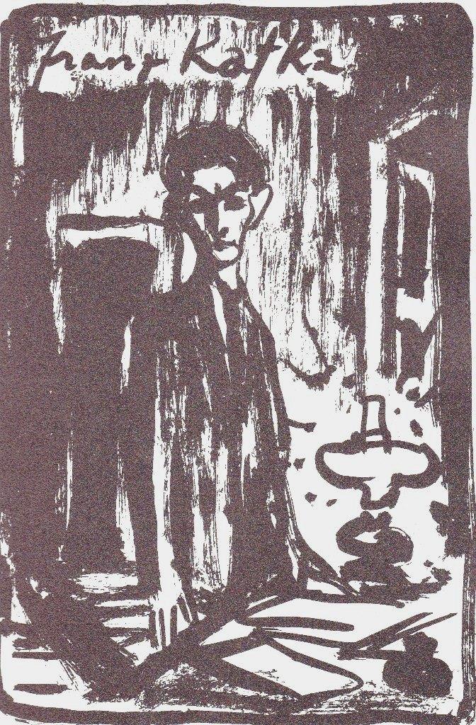 Kunst zu Kafka.: Fronius, Hans.