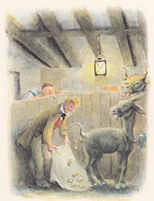 Tischlein deck dich / Goldesel / Knüppel aus dem Sack.: Grimm, Jakob und Wilhelm.