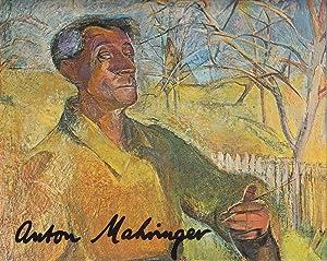 Anton Mahringer.: Zettl, Walter.