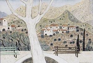 """Dorf in der Mani"""", 1991.: Breiter, Herbert."""