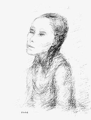 """Porträt Bettina"""", o.J. (um 1935): Ehrlich, Georg."""