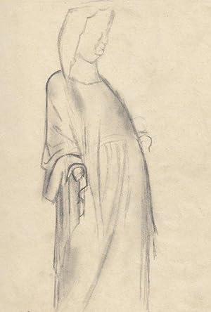 "Gotische Skulptur (Gailtal)"", 1930.: Frankl. Gerhard."