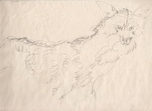 """Wolf"""", 1918.: Jungnickel, Ludwig Heinrich."""