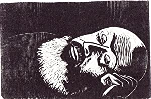 "Dem Gedächtnis Alfred Kubins"", 1959.: Berg, Werner."