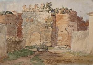 "Porta Latina ( Rom)"", 1903.: Lobisser, Switbert."