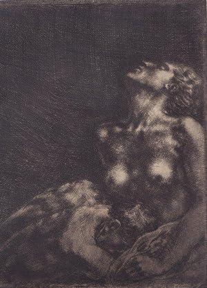 """Liebespaar"""", um 1940: Sterrer, Karl."""