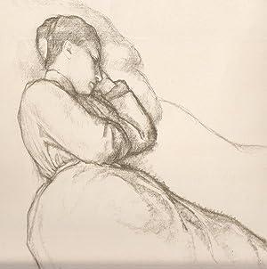 """Schlafende Frau"""", um 1920.: Sterrer, Karl."""