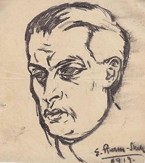 "Porträt Theodor Tagger"", 1919.: Sturm-Skrla, Egge."