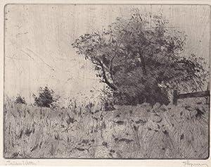 """Trübes Wetter"""", um 1930.: Wegerer, Julius."""
