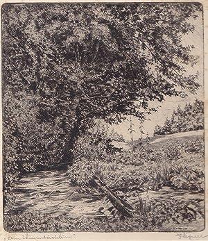 """Am Wiesenbächlein"""", um 1930.: Wegerer, Julius."""