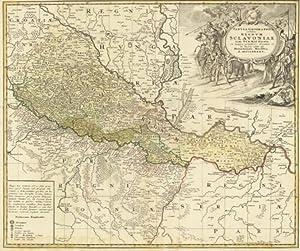 "Tabula Geographica exibens Regnum Sclavoniae cum Syrmii Ducatu "": Homann, Johann Baptist."