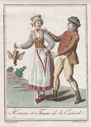 """Homme et Femme de la Carniole""""."""