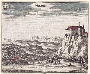 "Veldes"".: Valvasor, Johann Weichard."