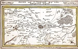 """Arien und St. Venand Mit nahe Anliegender Gegend"""" (Aire-sur la-Lys, Artois).: Bodenehr, G."""