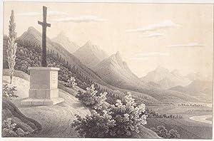 "Das Monument bei Feistritz""."