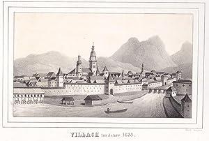 """Villach im Jahre 1688""""."""