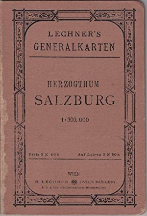 Herzogthum Salzburg 1:300.000.
