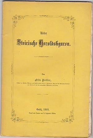 Über steirische Heroldsfiguren.: Pichler, Fritz.