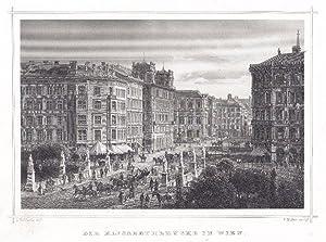 """Die kaiserl. Hofburg in Wien""""."""