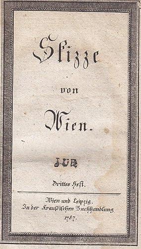 Skizze von Wien. Drittes Heft (von 6).: Pezzl, Johann)