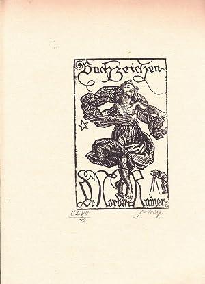 """Buchzeichen Dr. Norbert Rainer"""".: Lobisser, Switbert."""