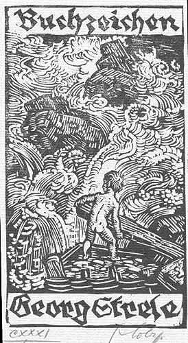 Buchzeichen Georg Strele.: Lobisser, Switbert (Tiffen 1878 – 1943 Klagenfurt)