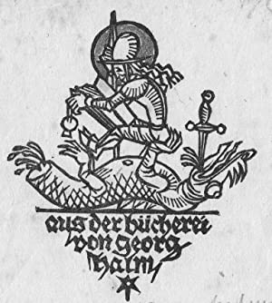 3 Exlibris): Halm, Hans.