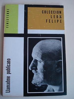 Llamadme publicano: León Felipe