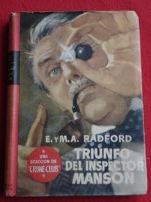 Triunfo del Inspector Manson: Radford, E. y