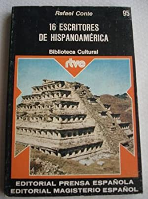 16 escritores de Hipanoamérica: Conte, Rafael