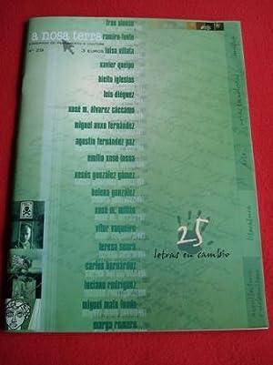 25 letras en cambio. A Nosa Terra.: Varios autores Fotografías