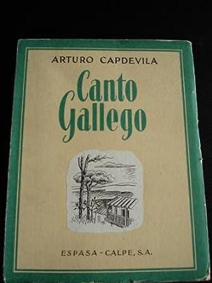 Canto gallego: Capdevila, Arturo .