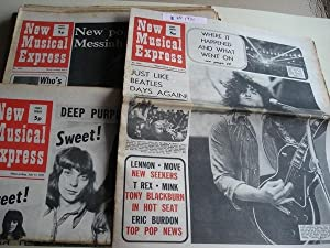 NEW MUSICAL EXPRESS. 16 NÚMEROS 1971. LONDON (UK)