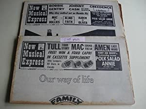 NEW MUSICAL EXPRESS. 2 NÚMEROS October, 11 - October, 18 -1969. LONDON (UK)