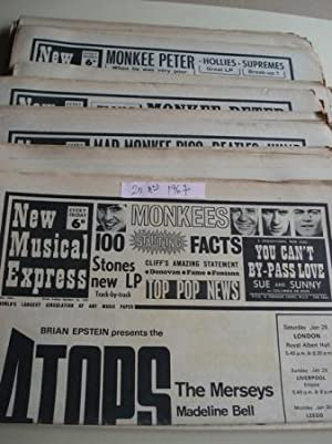 NEW MUSICAL EXPRESS. 20 NÚMEROS 1967. LONDON (UK)