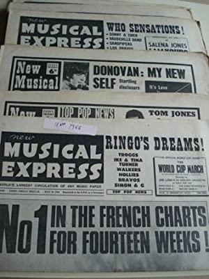 NEW MUSICAL EXPRESS. 14 NÚMEROS 1966. LONDON (UK)