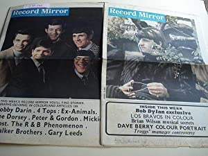 RECORD MIRROR. August, 13 - October, 29 - 1966 . LONDON (UK)