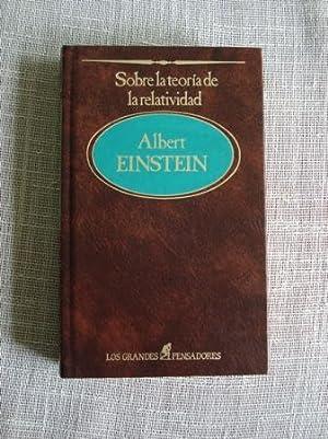 Sobre la teoría de la relatividad: Einstein, Albert