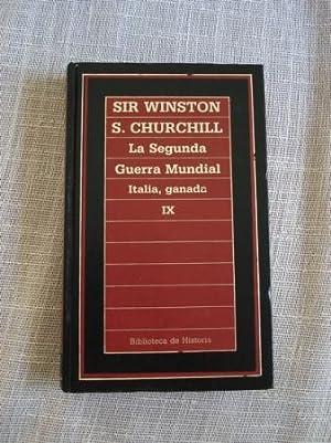 La Segunda Guerra Mundial. Tomo IX. Italia,: Churchill, Winston