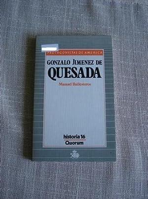 Gonzalo Jiménez de Quesada: Ballesteros, Manuel