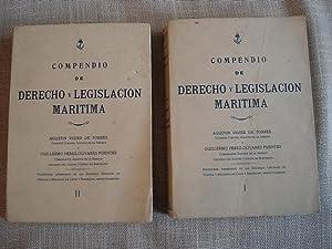 Compendio de derecho y legislación marítima. 2: Vigier de Torres,